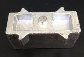 Проставка под рессоры УАЗ 469, Хантер, Патриот алюминий 60*55*120