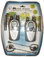 Радиостанции MIDLAND GXT-500 + З/У