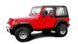 Расширители арок Jeep Wrangler YJ