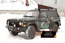 Расширители колесных арок Nissan Patrol 1987-1997 (Y60) коротыш