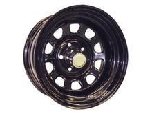 Диск колесный крашеный черный УАЗ 5х10 R16