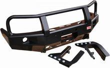 Бампер РИФ передний Ford Ranger с площадкой для лебёдки и доп. оптикой (с 2007 г.)