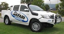 Шноркель SAFARI Toyota HiLux 10/2011+ 3.0Litre-I4