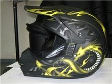 Шлем Kyon кроссовый Yellow/Matt Black L