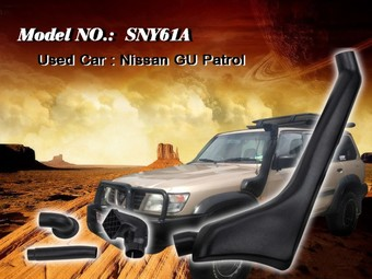 Шноркель NISSAN SAFARI/PATROL Y61 SNY61A