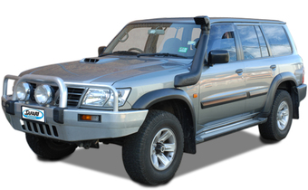 Шноркель SAFARI Nissan GU Patrol 2003 - 2004 Series 3, LHS