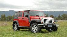 Шноркель SAFARI Jeep Wrangler JK с 2006 г.в. (3.8 бензиновый)