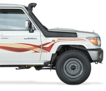 Шноркель SAFARI Toyota 7-series замена штатного шноркеля