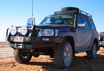 Шноркель TJM NISSAN GU Y61 2.8, 4.2 Diesel 2004+