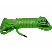 Синтетический трос КИТАЙ 12мм х 25м зеленый