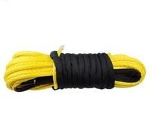 Синтетический трос КИТАЙ 10мм х 28 м желтый