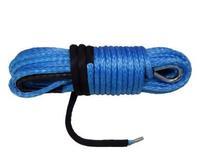 Синтетический трос КИТАЙ 12мм х 25м синий