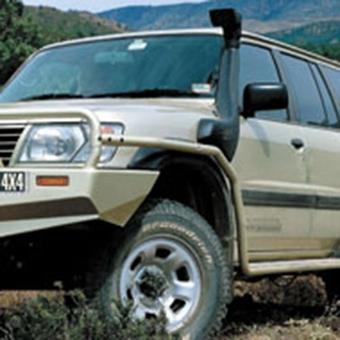 Шноркель SAFARI Nissan Patrol 2.8D c 1997-2000, 4.2D 2000-2004