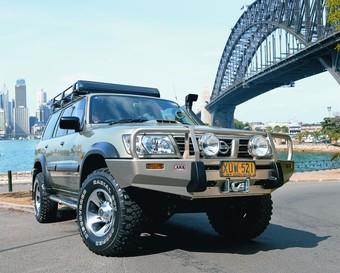 Шноркель SAFARI Nissan Patrol 97-04 SERIES 3, LHS