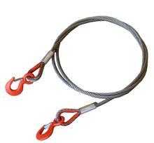 Трос буксировочный (удлинитель троса лебедки) 10 м 9 т крюк-крюк 11 м