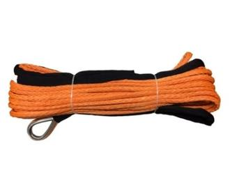 Синтетический трос КИТАЙ 12мм х 25м оранжевый