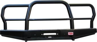 Бампер РИФ передний УАЗ с трубным кенгурином усиленный