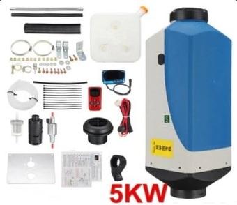 Воздушный стояночный обогреватель 12V/5кВт Maxpower  (пластиковый бак 10л)