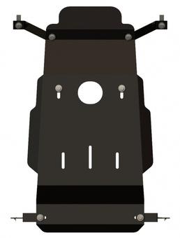 Защита картера ШЕРИФ УАЗ-Patriot  evro - III 2008-