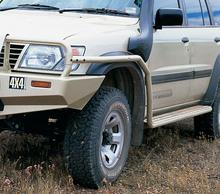 Защита ARB крыла к порогам Nissan Patrol