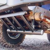 Защита рулевых тяг, редукторов