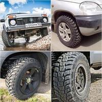 Недорогие грязевые шины НИВА